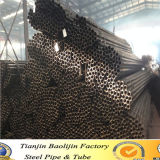 Cold Formed Q235 Straight Welding ERW Black Annealed Tubo