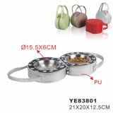 Carrier Collapsible Travel Pet Bowl (YE83801)