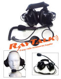 Two Way Radio Noise Cancelling Race Headset for Motorola 2 Pin Walkie Talkie