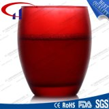 290ml Hot Sell Red Color Glass Water Cup (CHM8235)