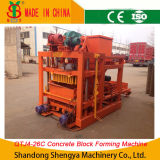 Semi-Automatic Concrete Hollow Block Making Machine (QTJ4-26C)