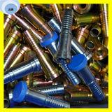 Straight SAE Flange 3000psi 87313-24-24 Hydraulic Hose Fitting
