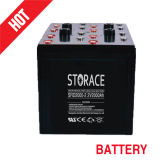 Solar Deep Cycle Batteries 2V 2000ah Battery Rechargeable