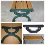 Customized Outdoor Cast Iron Park Bench Leg with Painting
