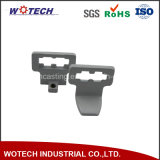 Customized Zinc Die Casting Brackets with White Powder Coating Surface