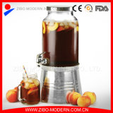 Wholesale 5L Glass Beverage Dispenser with Tap