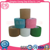 Disposable Medical Colored Cotton Bandage Self Elastic Adhesive