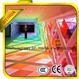 6.38-41.04mm Stained Laminated Glass with CE / ISO9001 / CCC