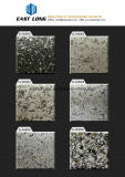 Fashion White Color Marble Floor Design Pictures with Nano Crystal Stone