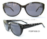 Fashion Grey Demi Injection UV Sunglasses