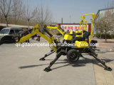 Towable Backhoe with 18HP Engine
