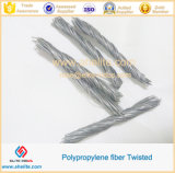 High Tensile Twisted Bundle PP Fibre for Cement