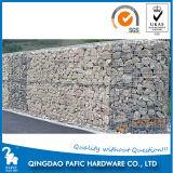 2mx1mx1m Galvanized Welded Gabion Retaining Wall