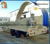 Longshun K Type Arch Curving Roof Machine Ultimate Building Machinery
