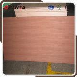 Natural Sapele Veneer Fancy Plywood 18mm for Furniture Used