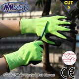 Nmsafety Soft Nitrile Coated Cut Protective Safety Work Glove