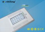 18W Mono Panel Solar LED Street Light with Motion Sensor