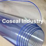 Light Blue Super Clear Plastic Fabric Sheet