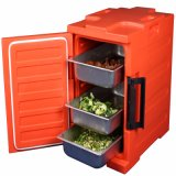 Magnifying Acrylic Box Bento Box Food Carrier