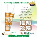 Kingjoin Good Quality Low Modulus Acetic Silicone Sealant