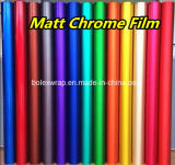 High Quality PVC Vinyl Rolls Car Wrap Self Adhesive Stickers Matte Chrome Film