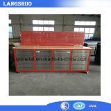 Industrial Wood-Top Metal Drawers Tool Cabinet