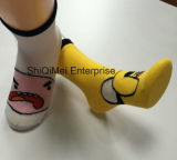 China Factory Custom Boys Girls Cotton Socks