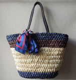 Factory Supply Different Color Natural Straw Fashion Beach Straw Bags Handbags
