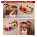 Hairband Headband Christening Elastic Flower Floral Hair Jewelry (P3035)