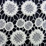 African Cotton White Lace Fabric (L5105)