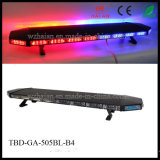 LED Lightbar for Recovery Trucks in Black Paintedaluminum Dome