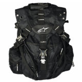 White Logo Racing Sports Backpack Motorcycle Shoulders Backpack (BA13)