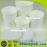 Biodegradable Soup Paper Cup with Lid
