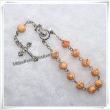 Single Decade Rosary Bracelets Wholesaler for Bracelet & Bangle (IO-CE035)