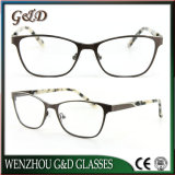 New Metal Glasses Eyewear Eyeglass Optical Frame Double Color 9021