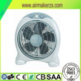 """12"""" 35W Electric Box Fan Speed Control Fan with Timer Ce /RoHS"""
