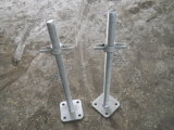 Solid Screw Jack Base for Scaffolding