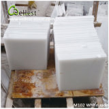 China Popular White Marble M102 White Jade Polished Marble Tile for Floor/Wall Cladding