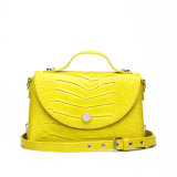 Yellow Crossbody Wear Tote Designer Handbags (MBNO038022)