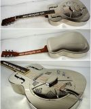 Wholesale Price Metal Body Electric Resonator Guitar
