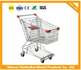 Metal Shopping Cart Trolley with Seat
