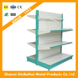 Wholesale Modern Standard Pegboard Rack Metal Shelf Units Supplier Cheap Price Gondola Supermarket Shelving