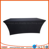 Black Spandex Table Cover Without Printing