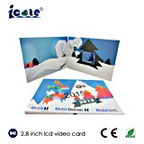 Best Christmas Gift for Family with 2.8 Inch LCD Video Gift