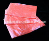 Medical Red Disposable Plastic Water Soluble Laundry Bags for Hospital
