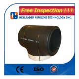 Equal Tee Carbon Steel Butt Welded Pipe Fitting