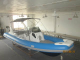 Liya Hypalon Rib Boat 24.6feet Rigid Inflatable Boat Hypalon