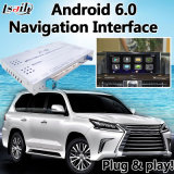 Android 6.0 Video Interface with GPS Navigator Support Lvds Video Signal Input for Lexus