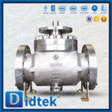 Didtek Fire Safe Manual Top Entry Ball Valve with Gear Operated