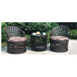 Hot Sell Rattan Furniture Set with Six Chair